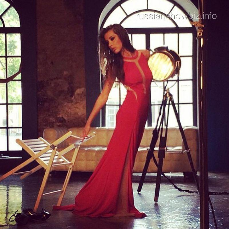 Кети Топурия в фотосессии для Fashion People
