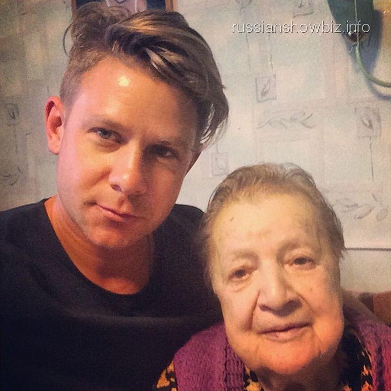 Митя Фомин с бабушкой
