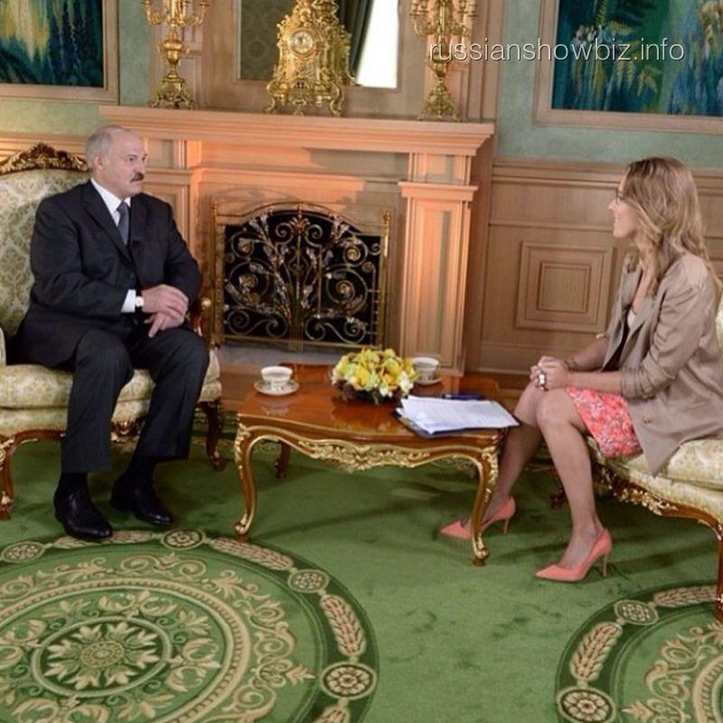 Александр Лукашенко и Ксения Собчак