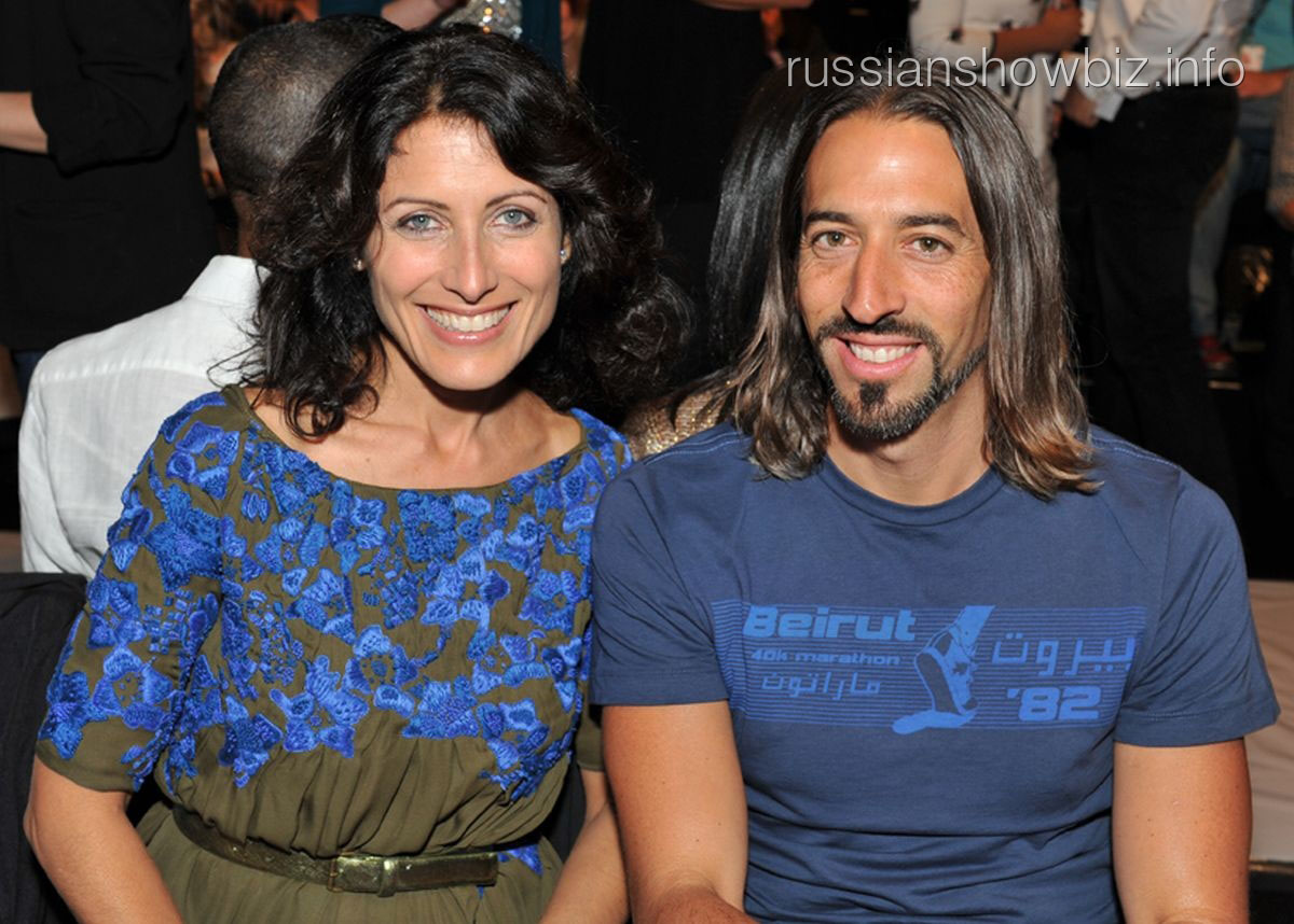 Лиза Эдельштейн с мужем