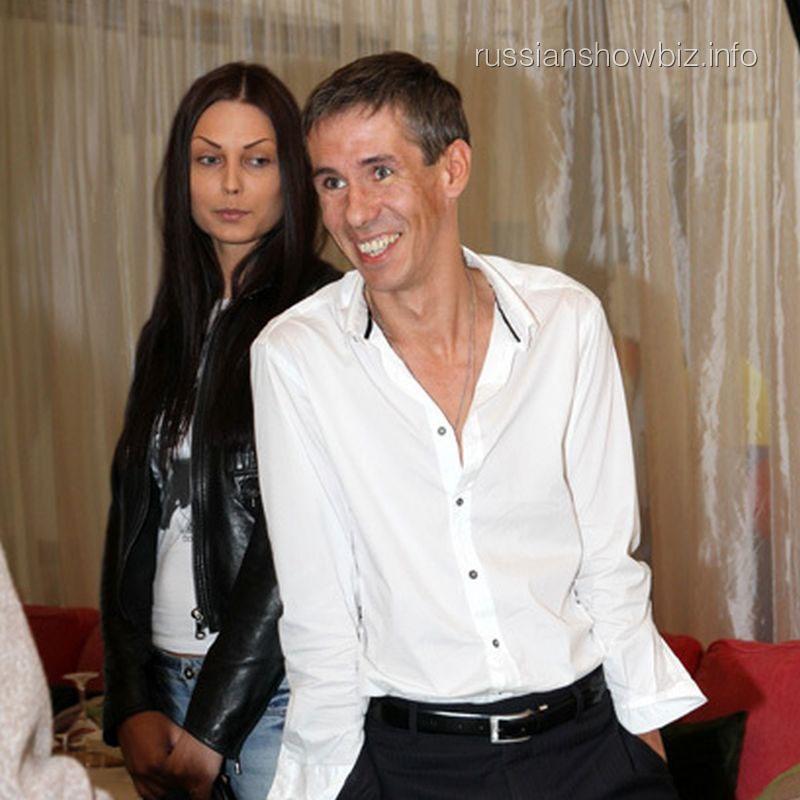 Алексей Панин с возлюбленной Людмилой