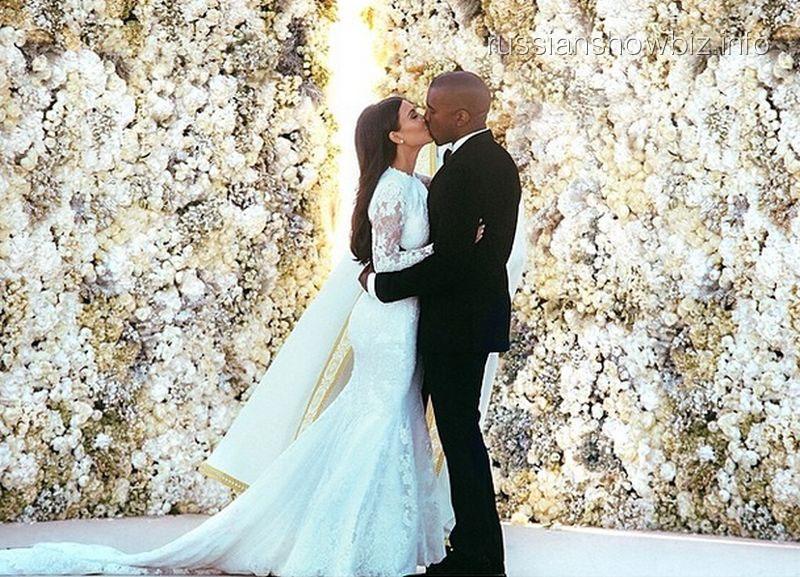 Свадьба Ким Кардашьян и Канье Уэста