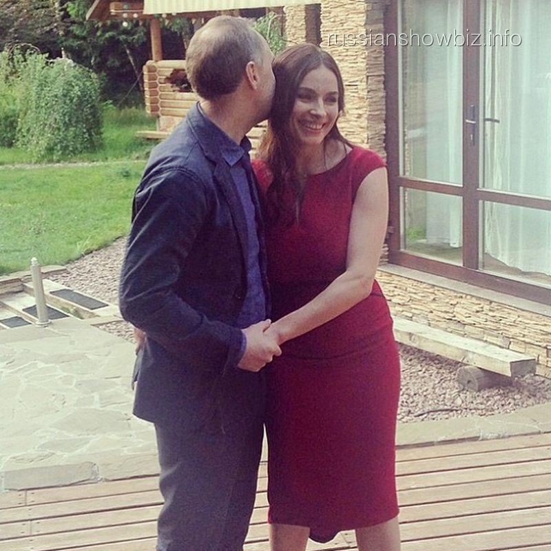 Надежда Грановская с мужем