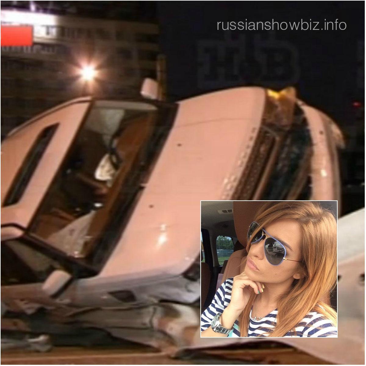 Ксения Бородина (фото авто - НТВ)