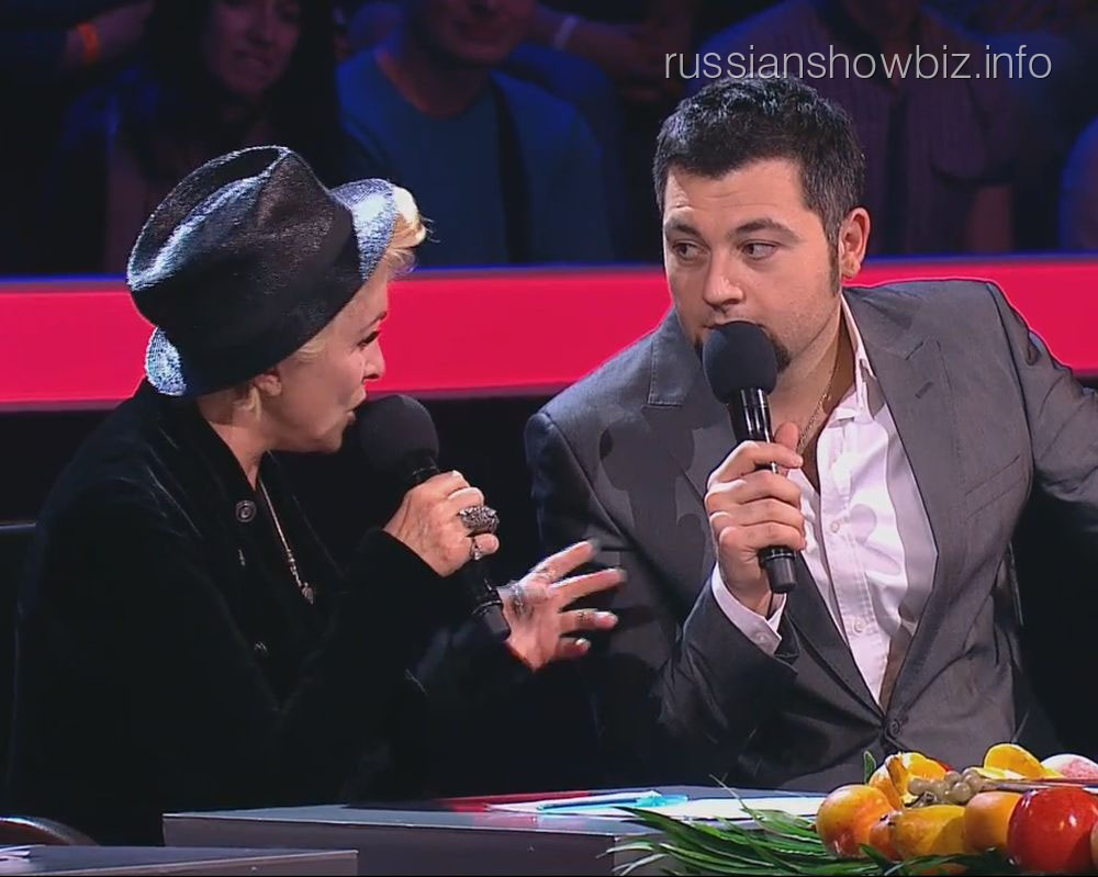 Лайма Вайкуле и Алексей Чумаков