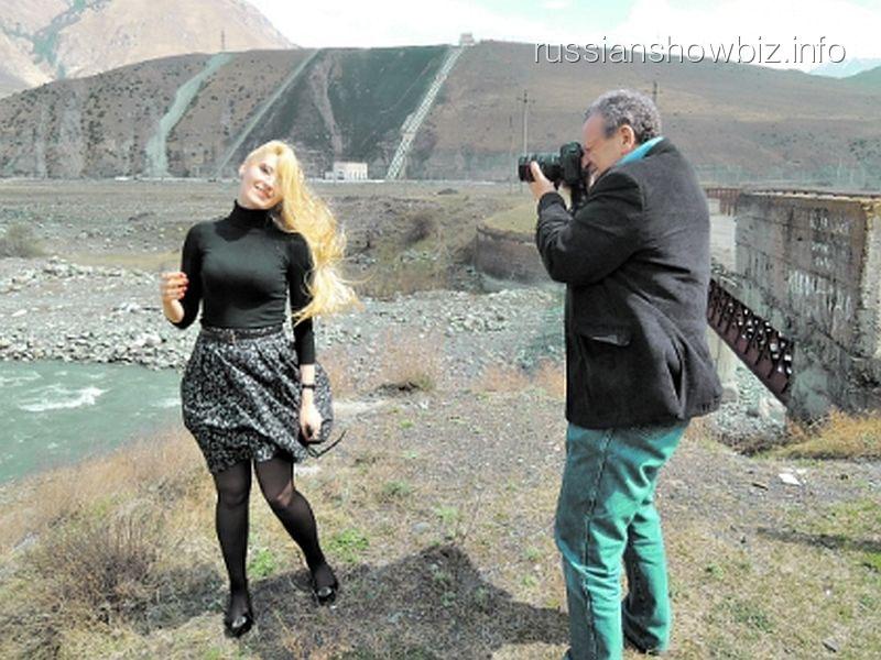 Боис Грачевский с новой возлюбленной (фото - Катерина Мигулина)