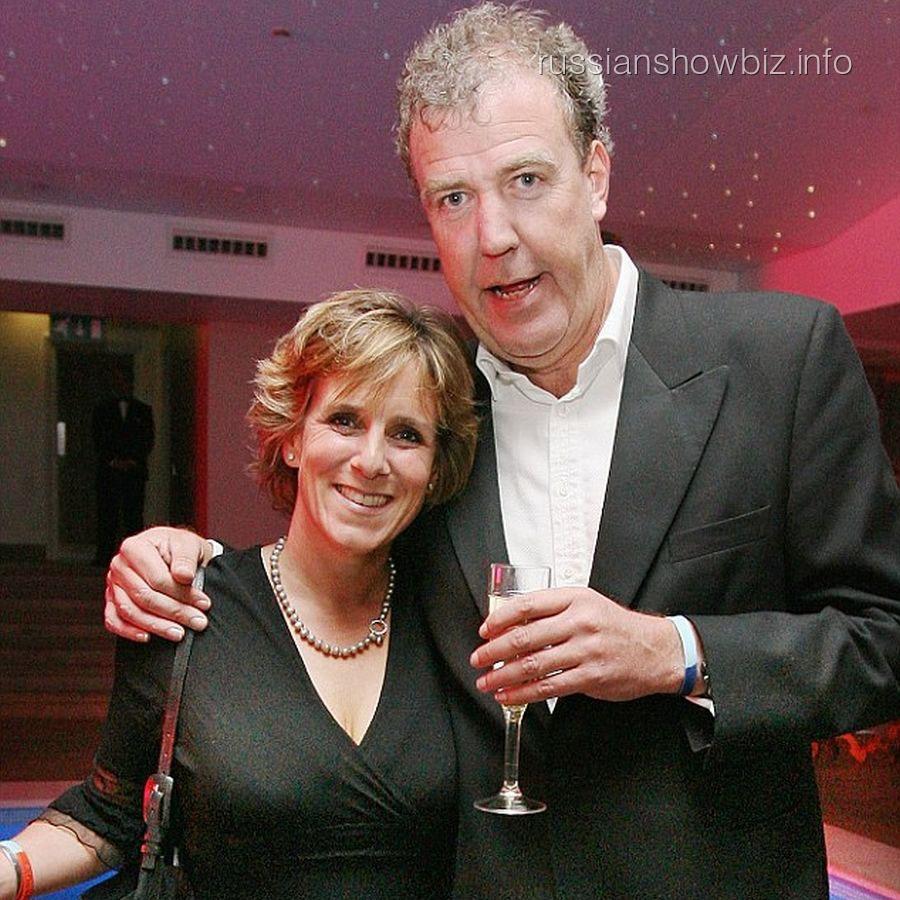 Джереми Кларксон с женой Фрэнсис