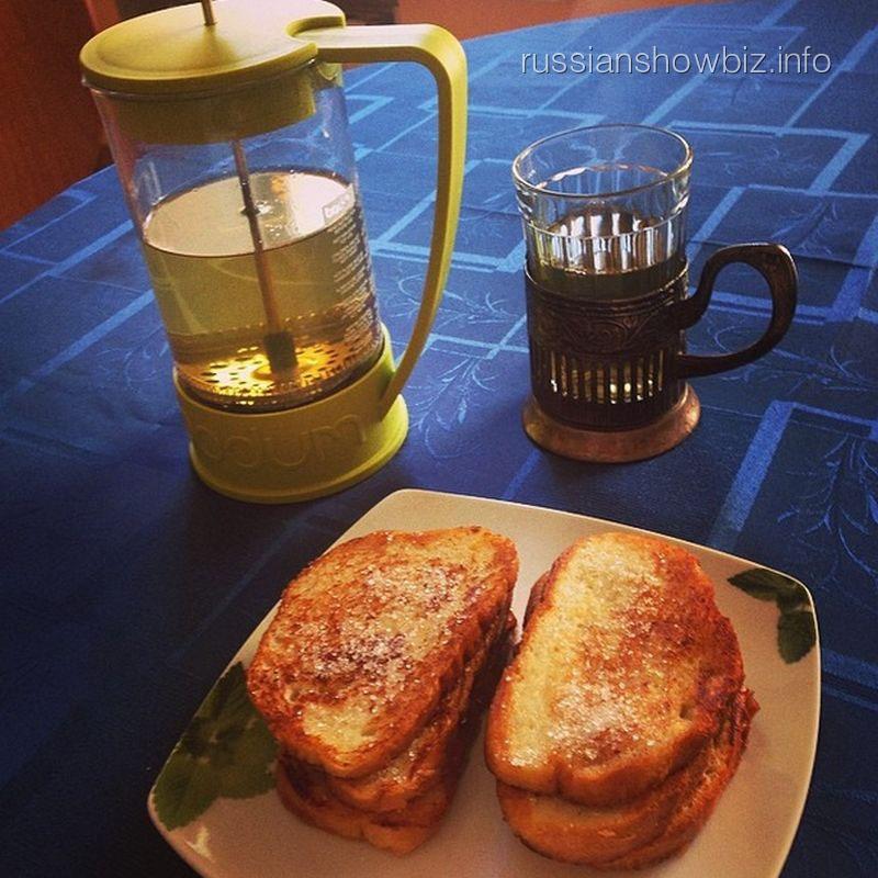 Завтрак Алены Свиридовой