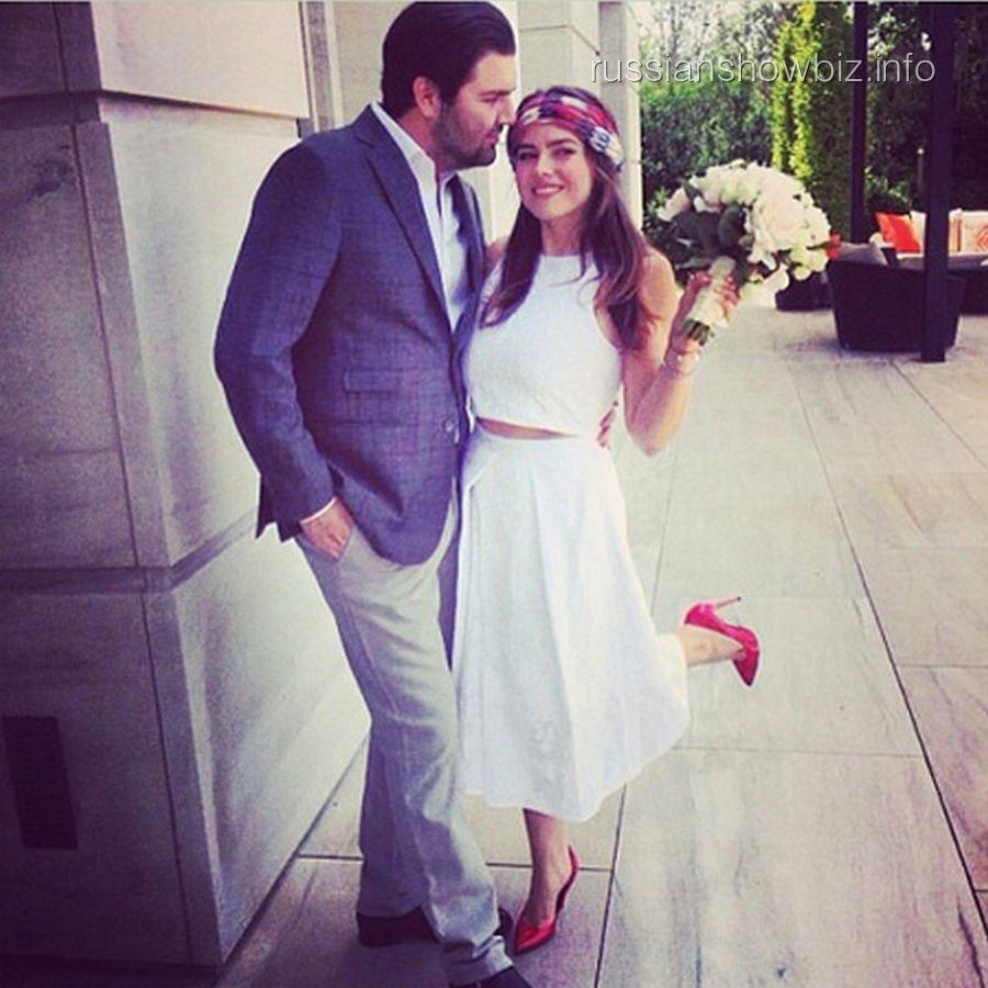 Виктория Крутая с мужем