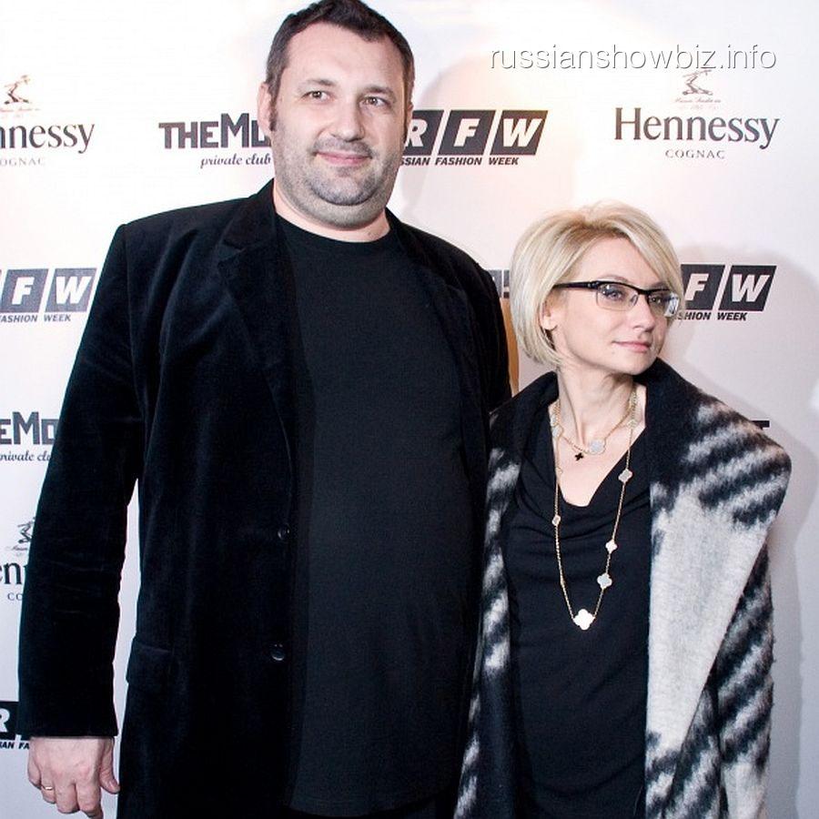 Эвелина Хромченко с бывшим мужем