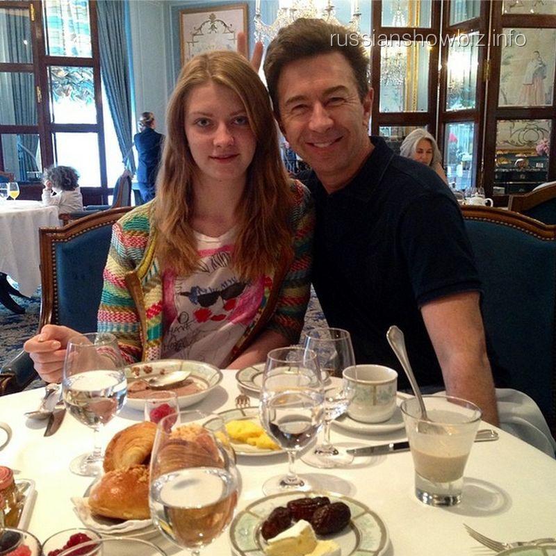 Валерий Сюткин с дочерью Виолой