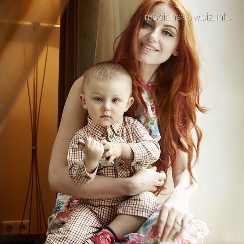 Ирина Забияка с сыном