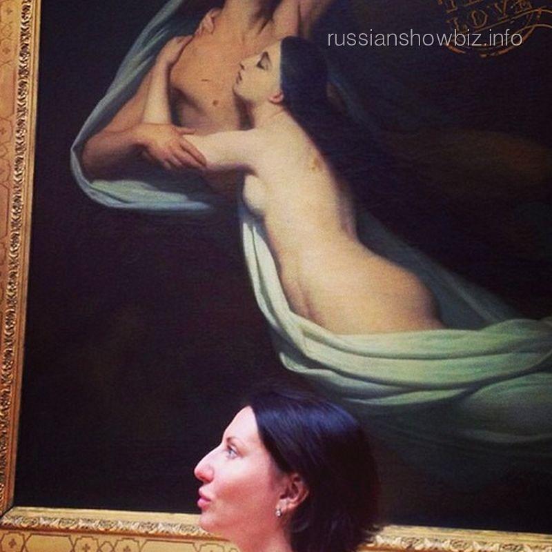 "Алика Смехова и ее ""двойник"""