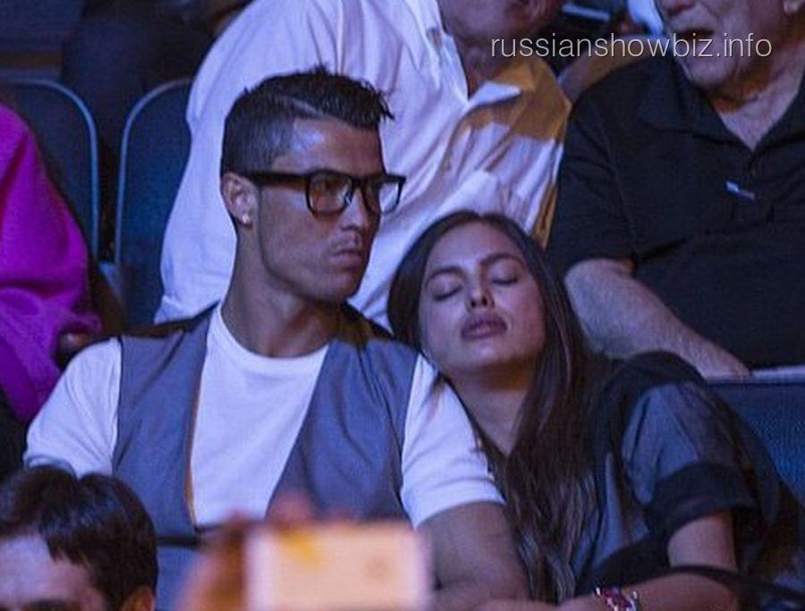 Криштиану Роналду и Ирина Шейк (фото - WMJ)