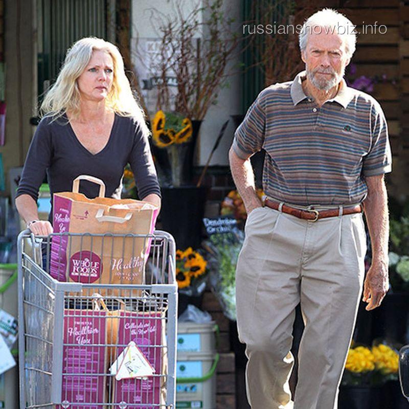 Клинт Иствуд с новой возлюбленной