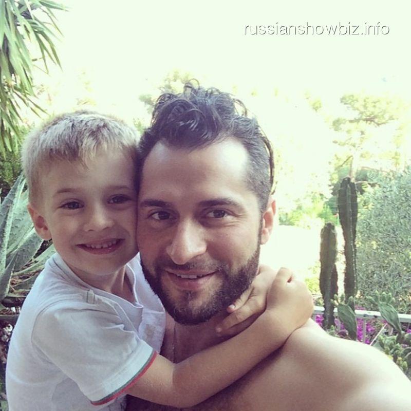 Ираклий с сыном