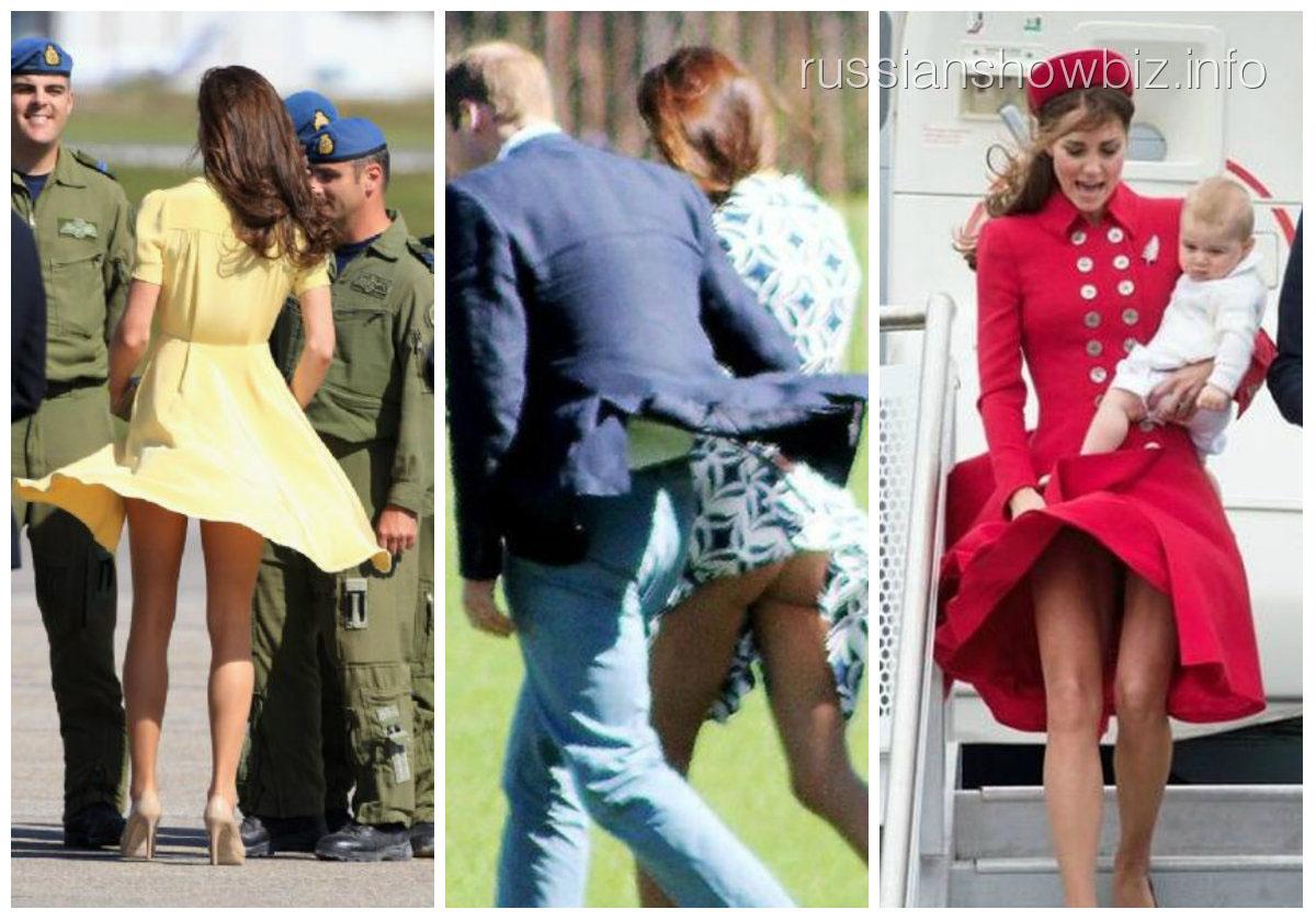 Для юбки герцогини Кэтрин наняли телохранителя