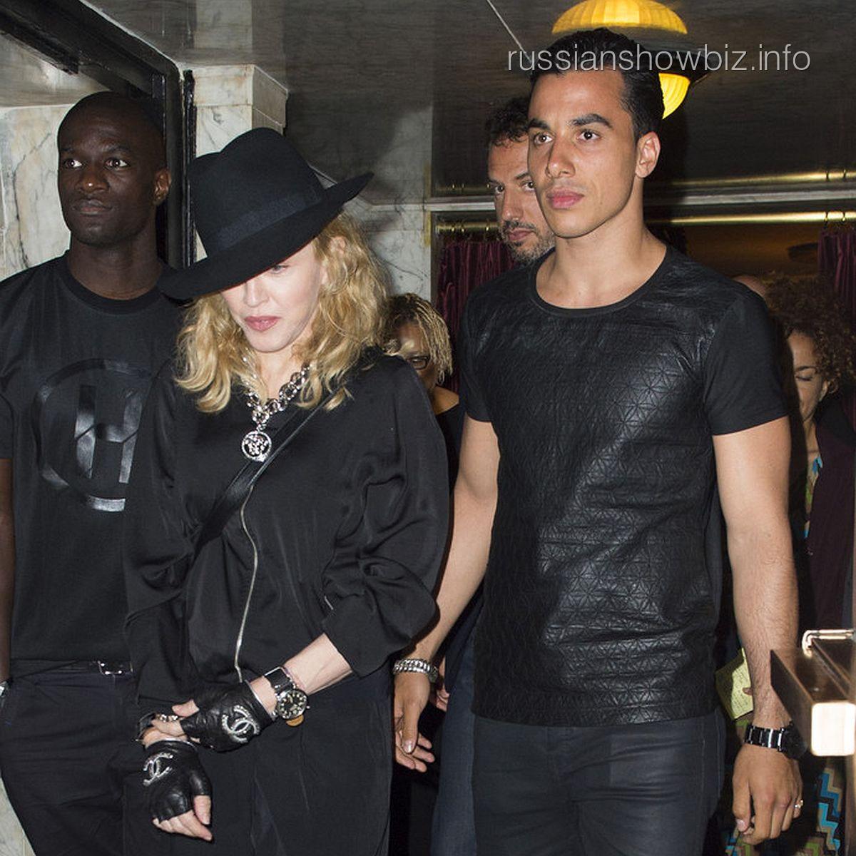 Мадонна и Тимор Стеффенс