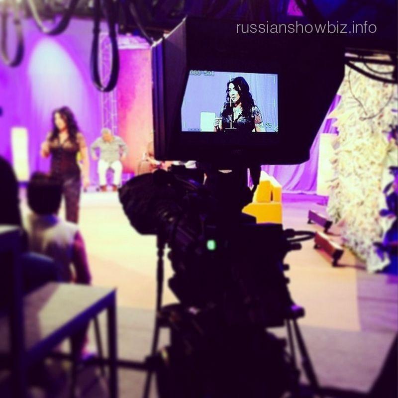 Съемки шоу Лолиты Милявской