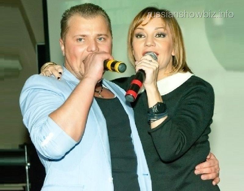 Александр Попов и Татьяна Буланова
