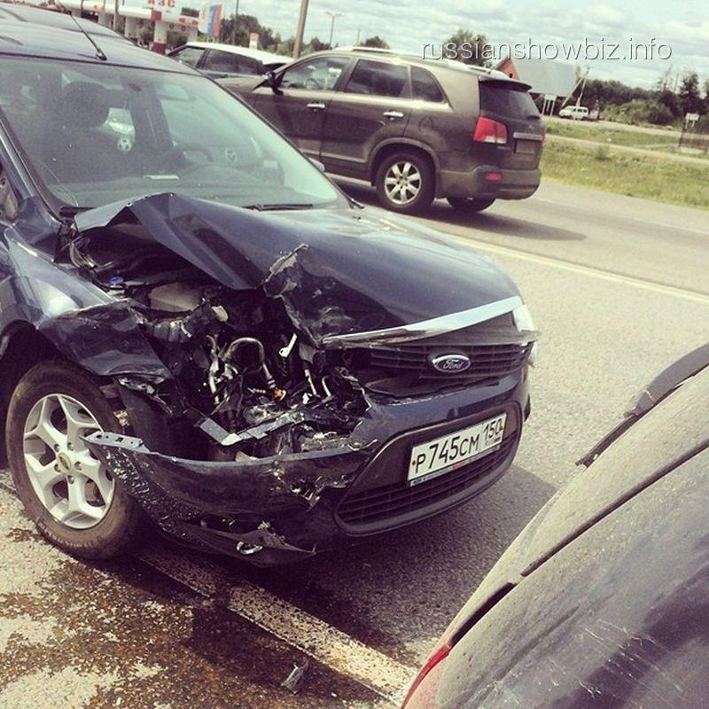Авария с участием певицы Бьянки