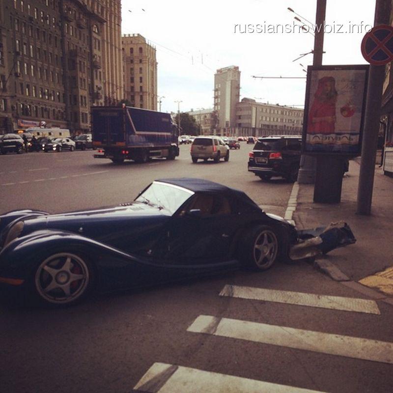 Автомобиль Гоши Куценко