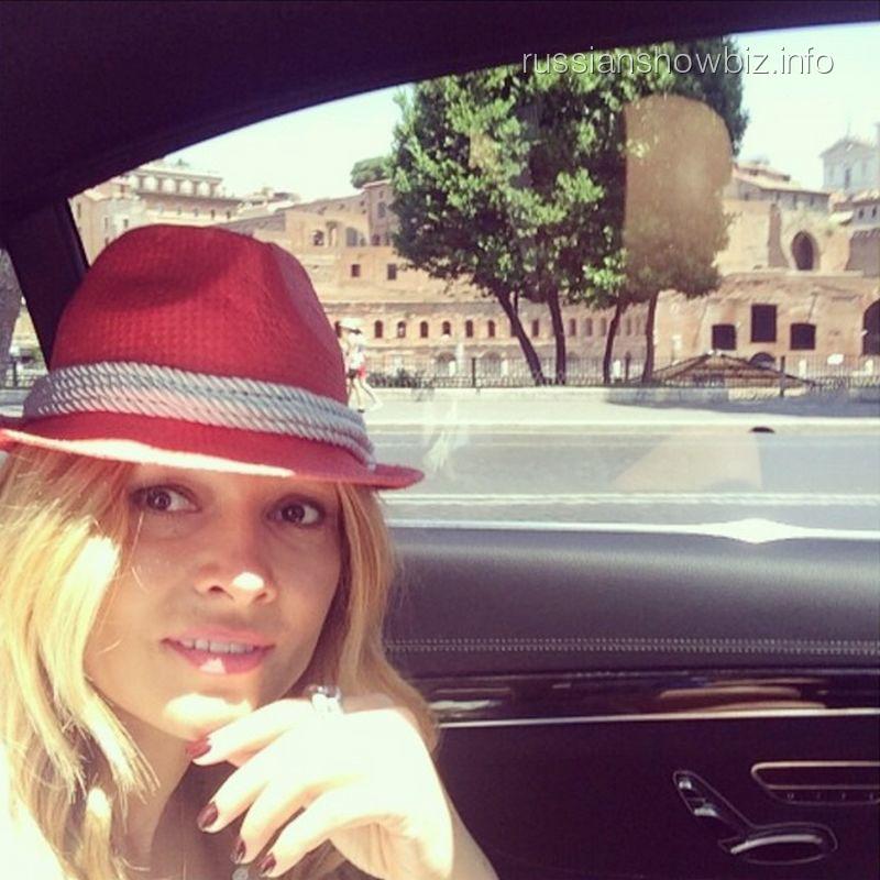 Анжелика Агурбаш в Италии