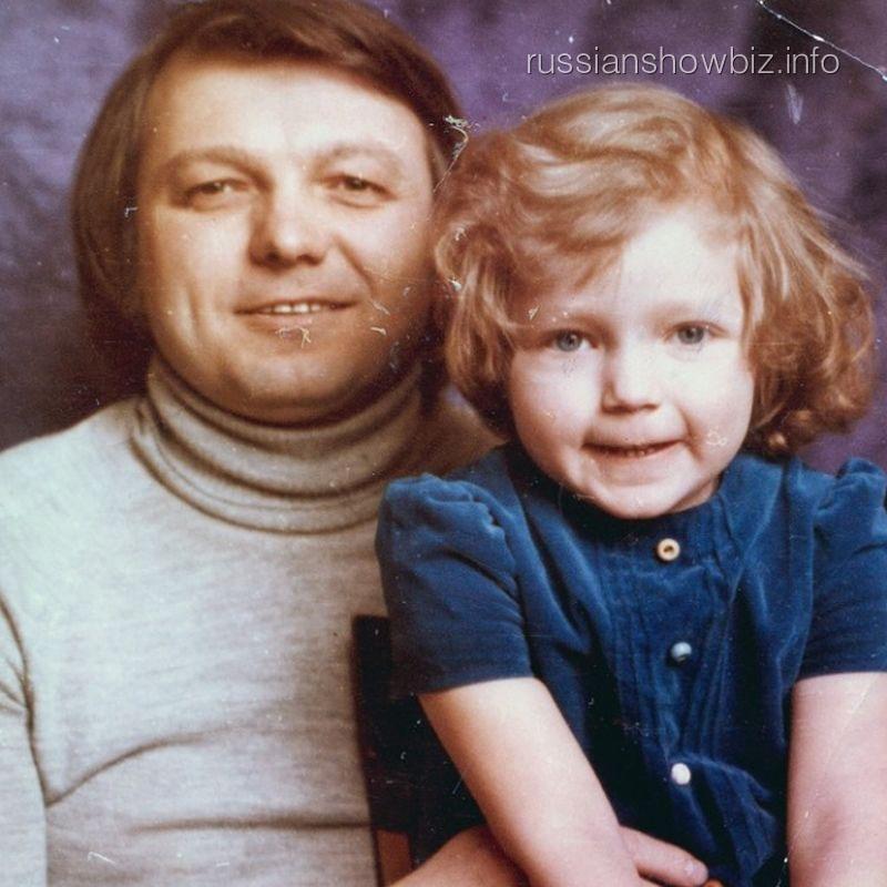 Юрий Маликов с дочерью Инной