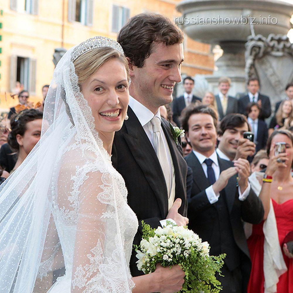 Принц Амедео с супругой