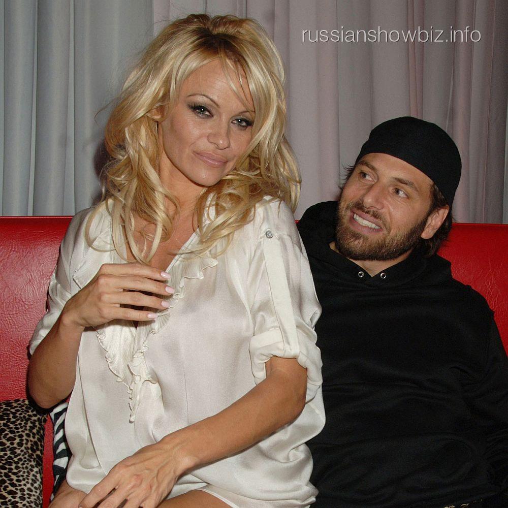 Памела Андерсон и Рик Соломон