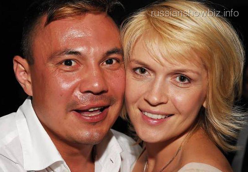 Костя Цзю с бывшей женой