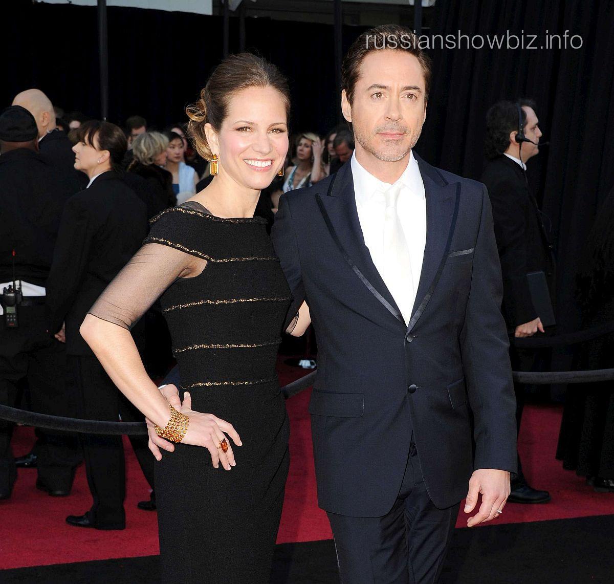 Роберт Дауни с женой Сьюзан