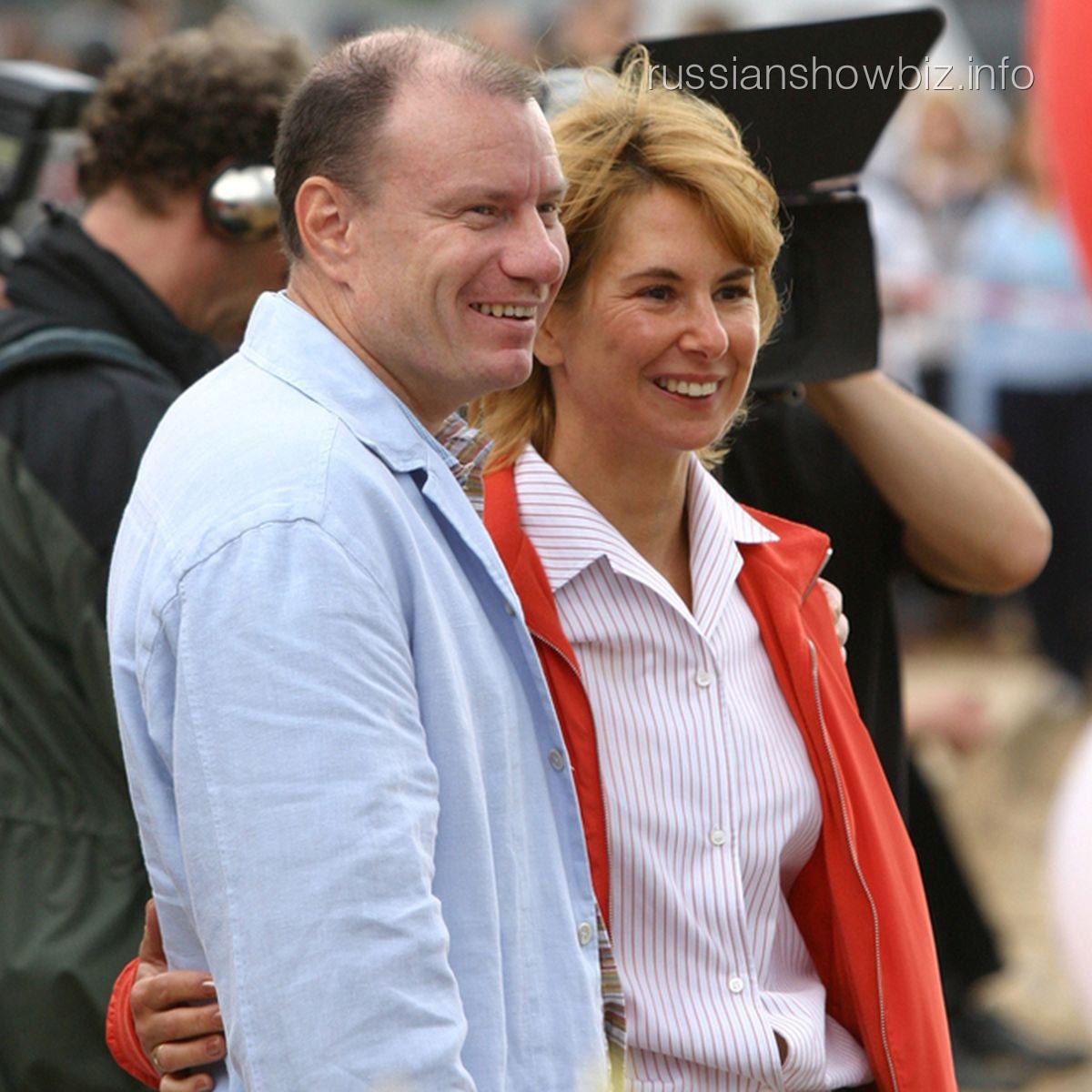 Владимир Потанин с женой