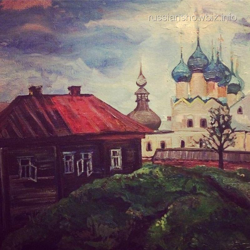 Картина мамы Анастасии Стоцкой
