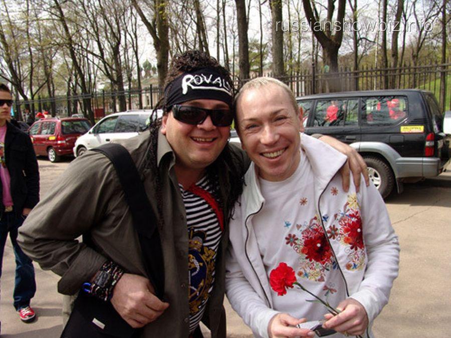 Джордж Ровалс и Александр Песков