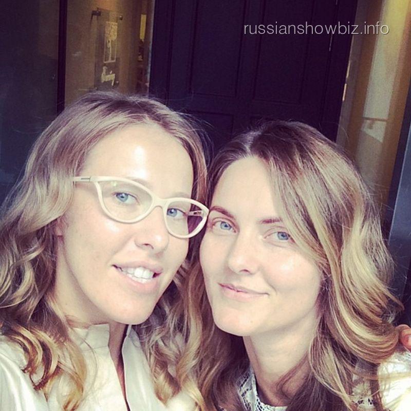 Ксения Собчак с подругой