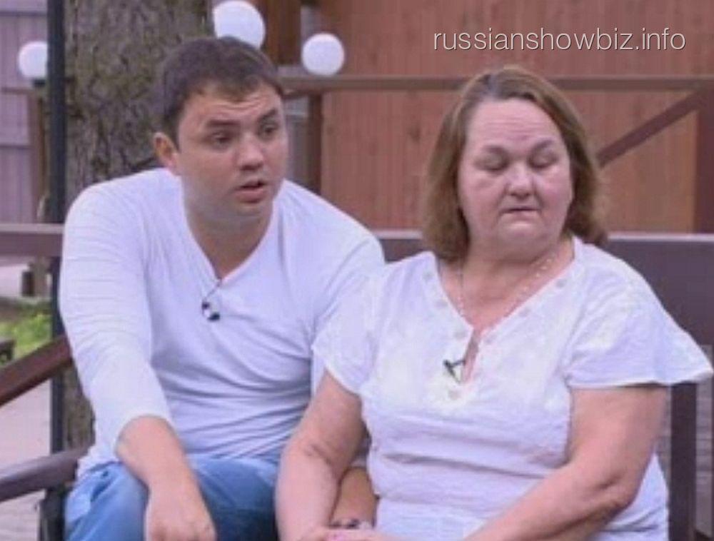 Александр Гобозов с мамой