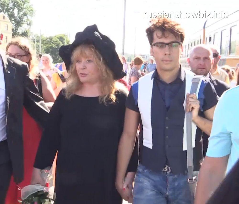 Алла Пугачева и Максим Галкин (фото - Super)