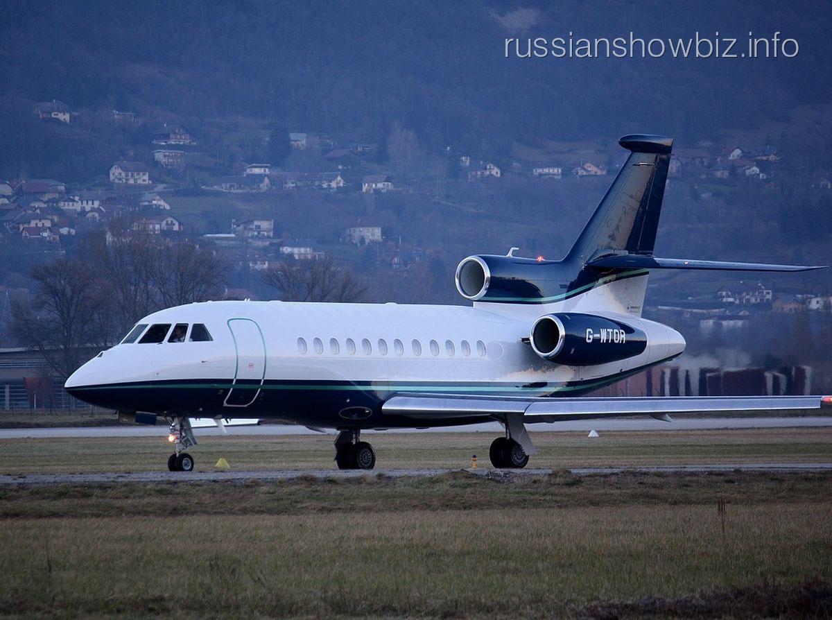 Самолет Falcon 2000EX