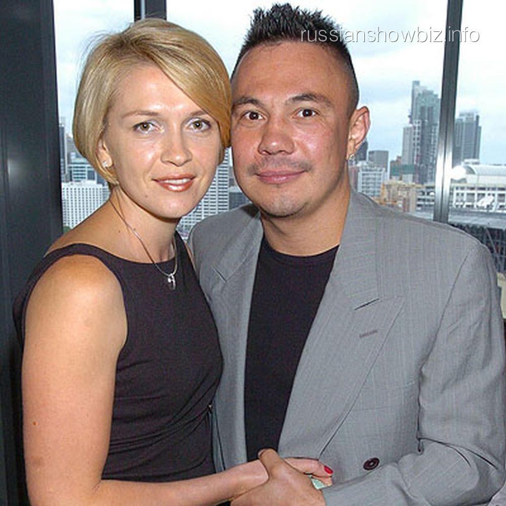 Костя Цзю с экс-женой