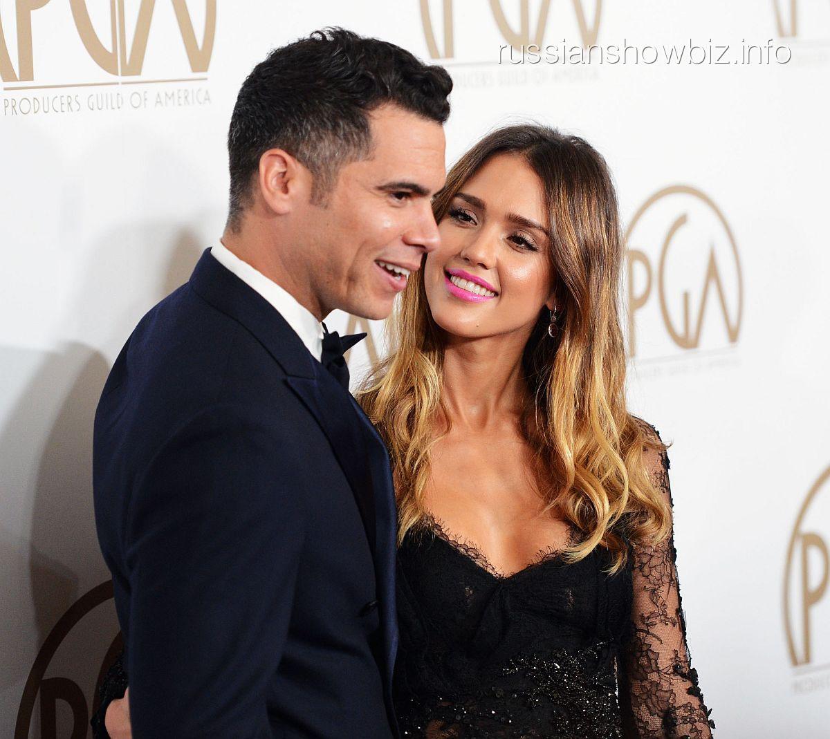 Джессика Альба с мужем