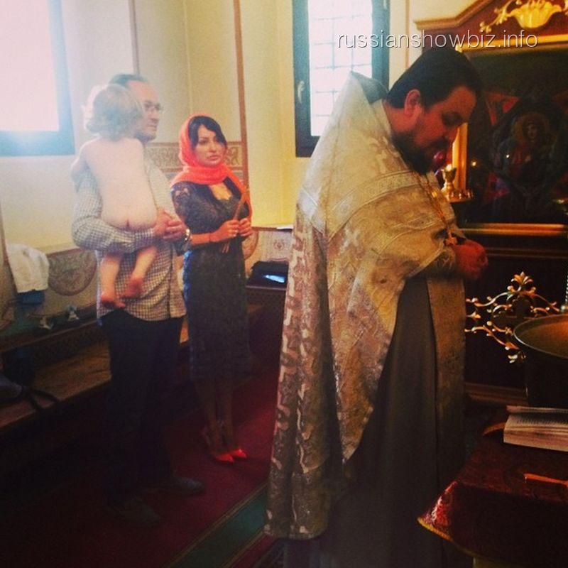 Крестиы сына Кати Гордон