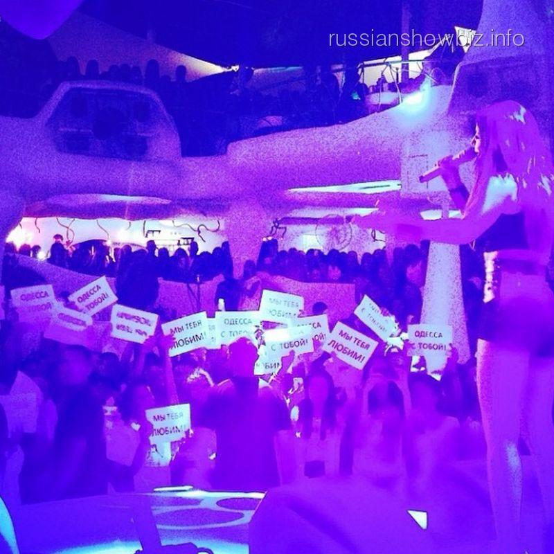 Выступление Ани Лорак в Одессе