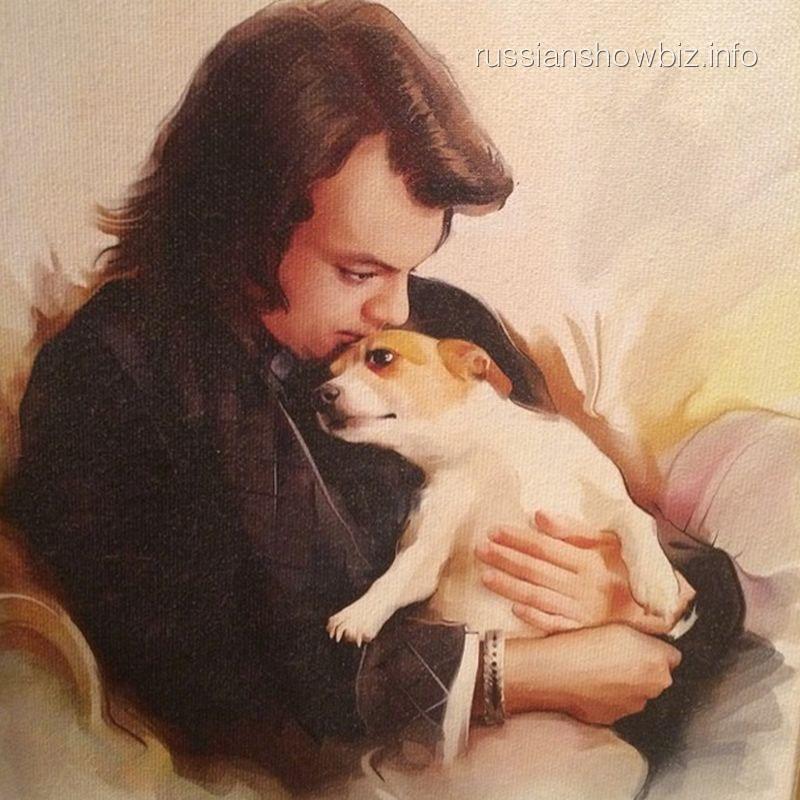 Филипп Киркоров с собакой