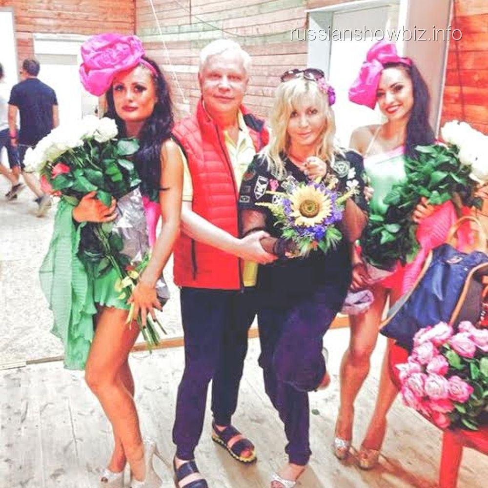 Борис Моисеев и Ирина Билык