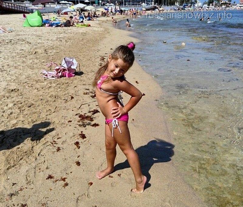 Дочь Даны Борисовой