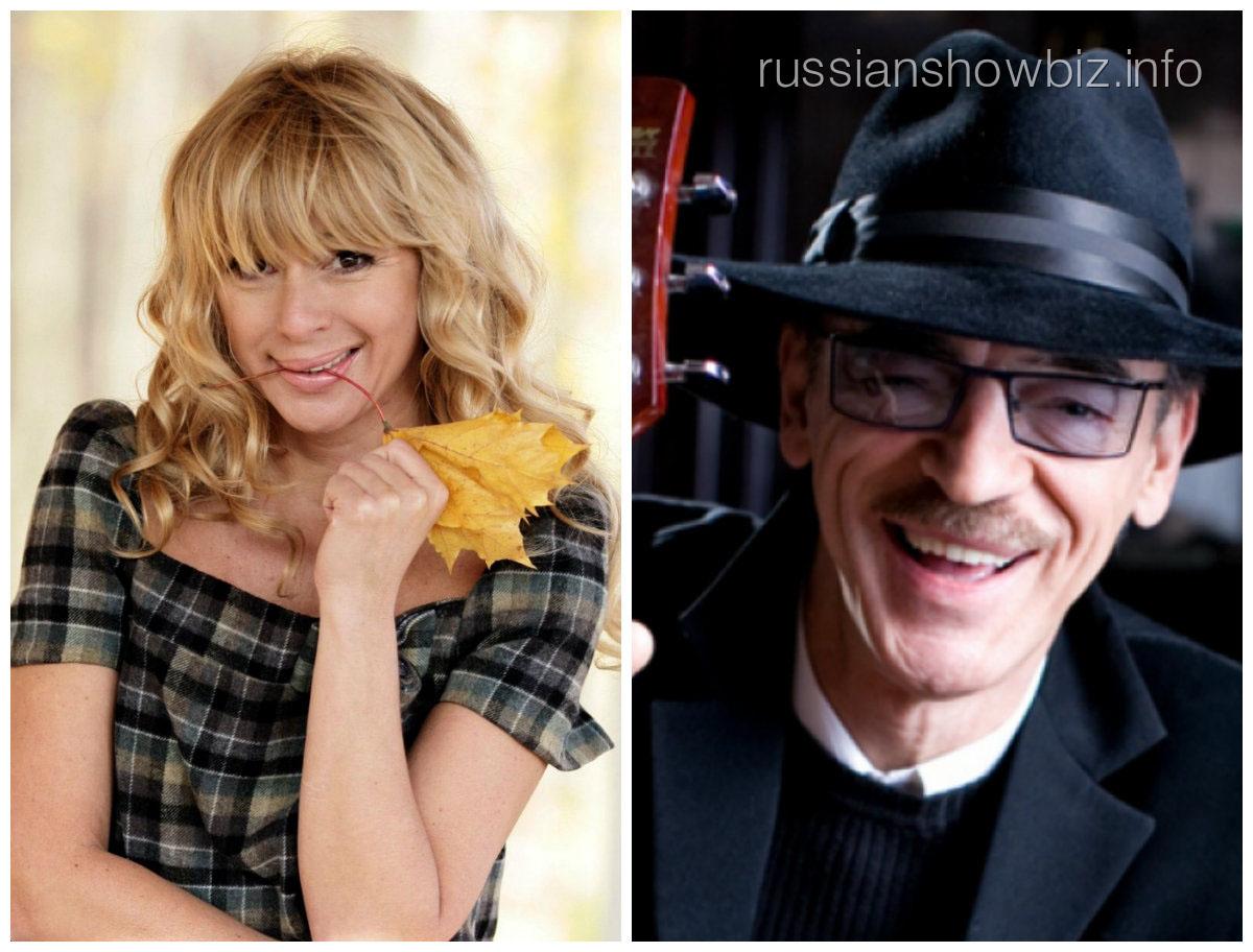 Алена Апина и Михаил Боярский