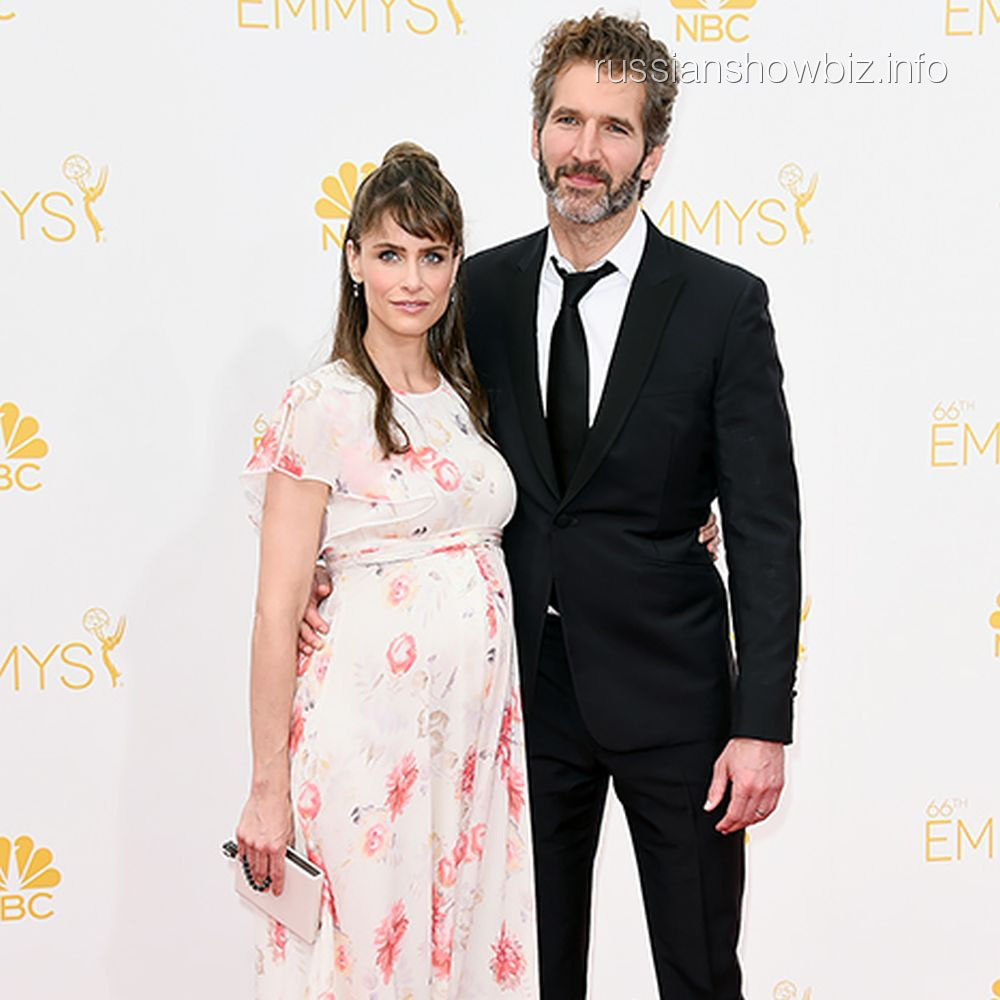 Аманда Пит с мужем