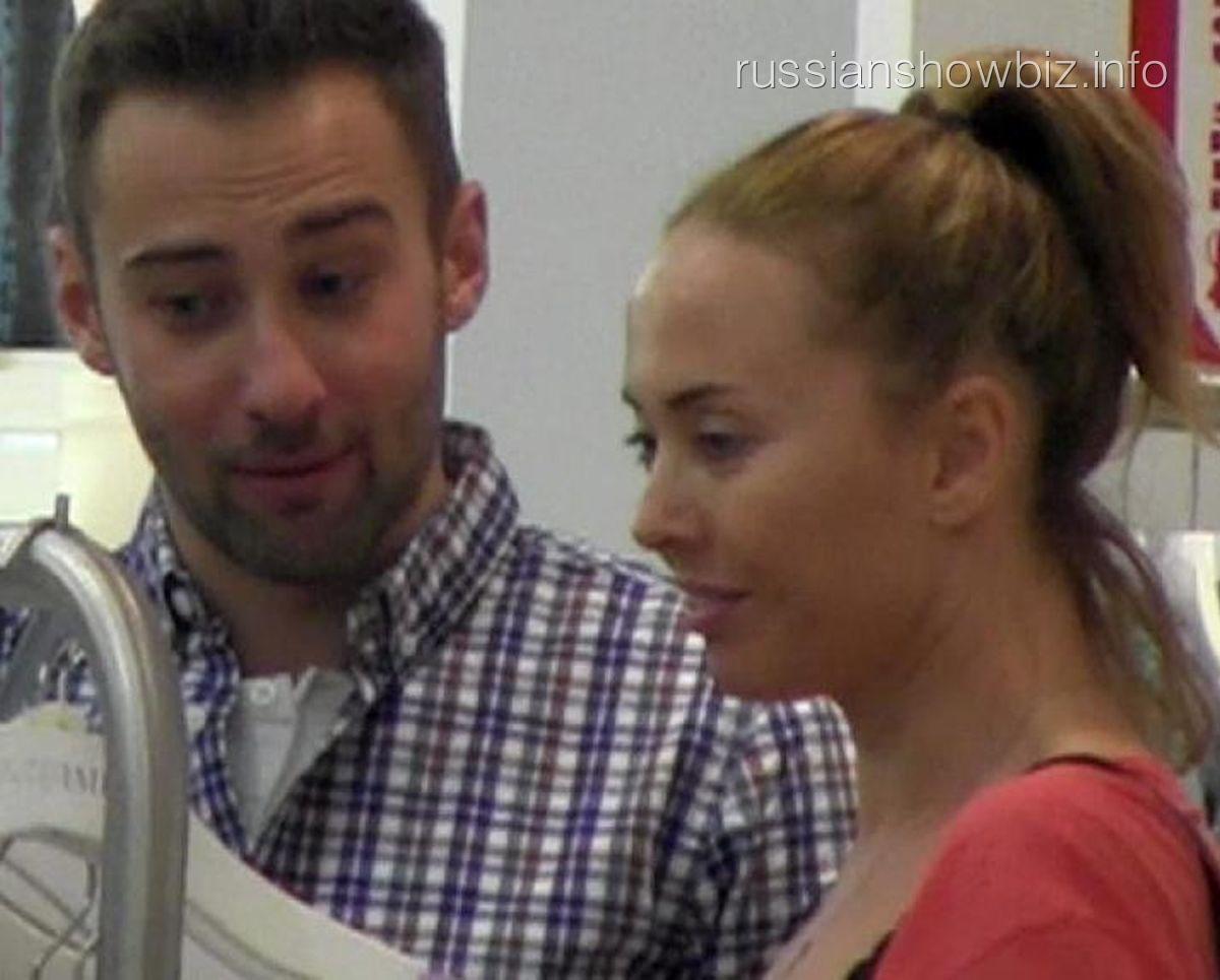 Дмитрий Шепелев и Жанна Фриске