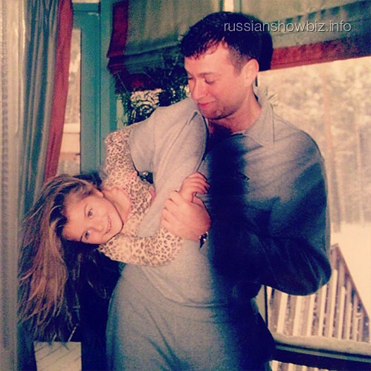 Роман Абрамович с дочерью